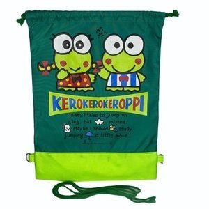 Vintage Kerokerokeroppi Drawstring Backpack